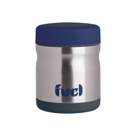 Contenant Fuel inox 450 ml couleur bleu