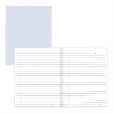 Livre de notes ligné rigide 150p. bleu pâle