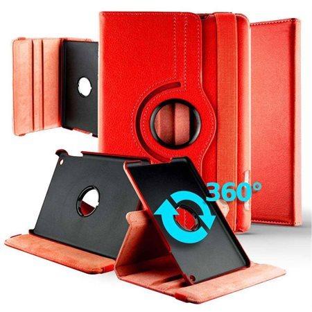 Étui rotatif pour Samsung Tab A 10.5'' rouge