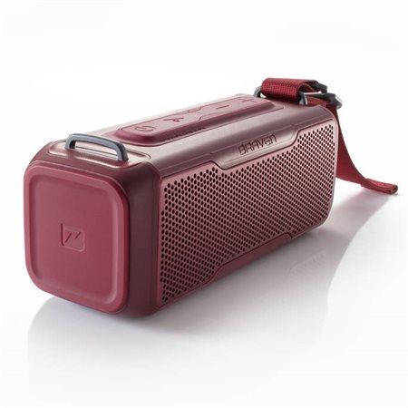 Haut-parleur BRV X / 2 portatif Bluetooth rouge