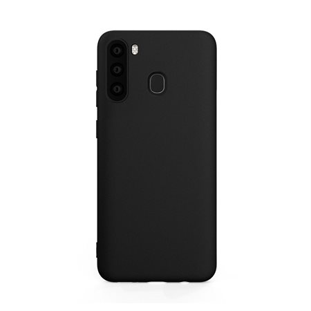 Coque en gel noir pour Samsung Galaxy A21