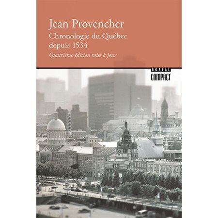 Chronologie du Québec depuis 1534