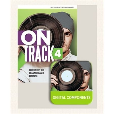 On Track - Activity Book 4 + STUDENT Digital Components 4 (12-month access)