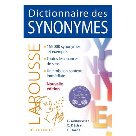 Dictionnaire des synonymes ( ed. 2018)