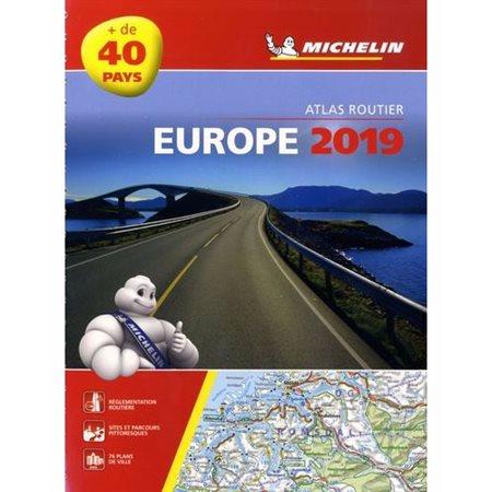 Europe 2019: atlas routier