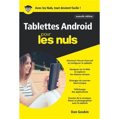 Les tablettes Android pour les nuls (2020)