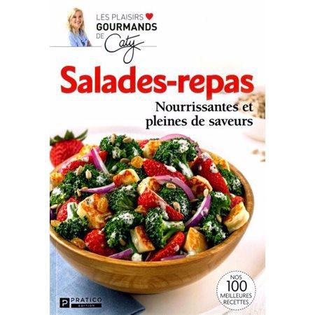 Salades-repas nourrissantes et pleines de saveurs