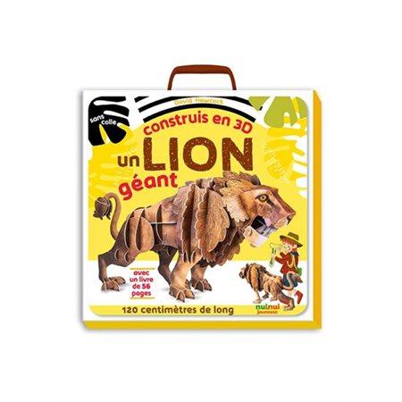 Construis en 3D un lion géant