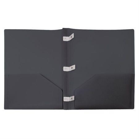 Couverture de présentation recyclée noir
