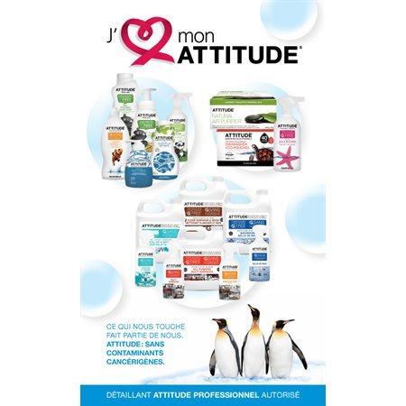 """Affiche pour présentoir """"Attitude"""" français"""