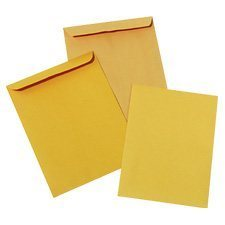 "Enveloppe ""Kraft"" Boîte de 1000 #1  5-1 / 2 x 7-1 / 2"""