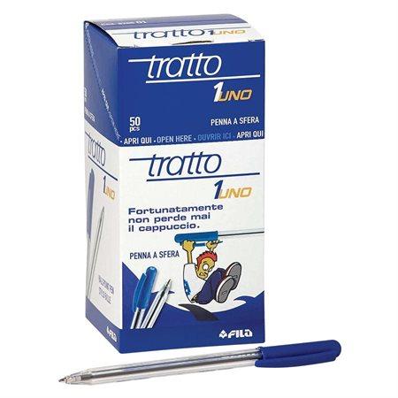 Stylo à bille rétractable Tratto-1 bleu