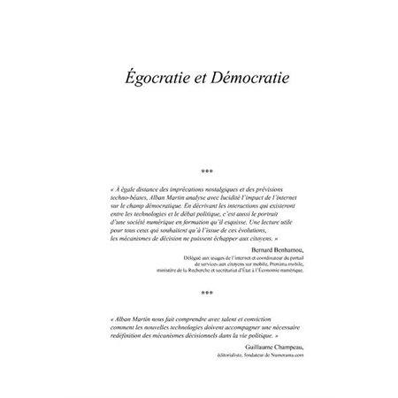 Egocratie et démocratie