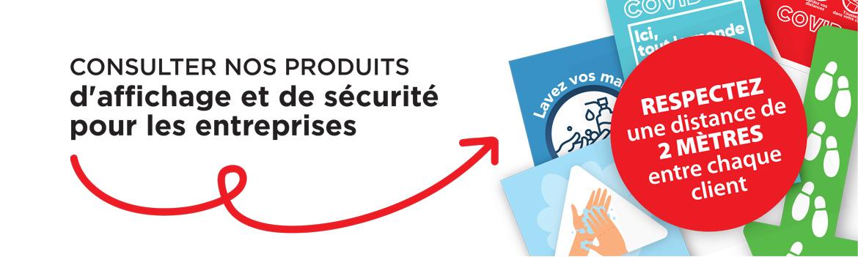 Consultez nos produits d affichage et de securite contre la COVID-19