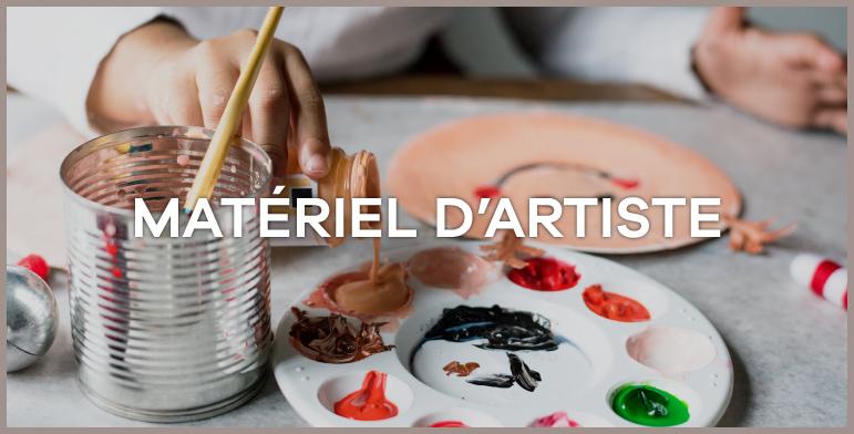 Materiel d artiste
