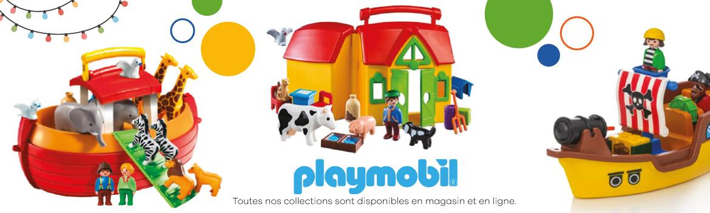 Découvrez les collections Playmobil!