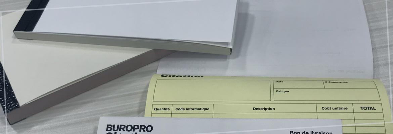Impression sur papier NCR