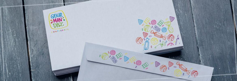 Impression sur enveloppes