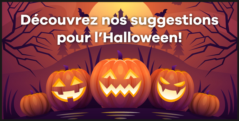 Suggestions pour Halloween